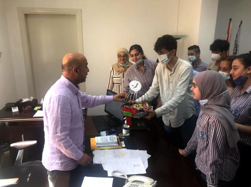 """طلاب """"ثانوية المقاصد الإسلامية –صيدا"""" يحتفلون بذكرى المولد النبوي الشريف"""